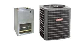 Goodman 1.5 Ton 15 SEER Air Conditioner and Wall Mount Air H