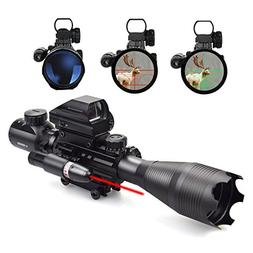 Feyachi 3 in 1 Rifle Combo Scope, 4-16x50EG magnification, R
