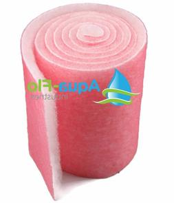 10' ROLL PINK FILTERS FOR SALT WATER AQUARIUMS BULK MEDIA MA