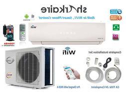 110 VOLT 1 ton Ductless Mini Split Air Conditioner Wi-Fi con