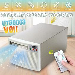 110V 6000BTU Window Air Conditioner Cooler  Dual Use Timing