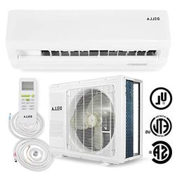 DELLA 12,000 BTU 115V- 15.5 SEER Energy Ductless Mini Split
