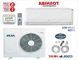 12,000 BTU Ductless AC Air Conditioner, Heat Pump Mini split