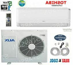 12,000 BTU Ductless Air Conditioner, Heat Pump Mini split 11