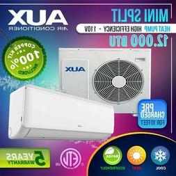 AUX 12,000 BTU  Ductlless AC Air Conditioner, Heat Pump Mini