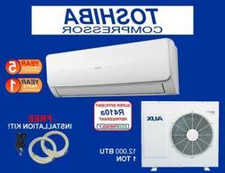 12,000 BTU  Ductlless Air Conditioner, Heat Pump Mini split