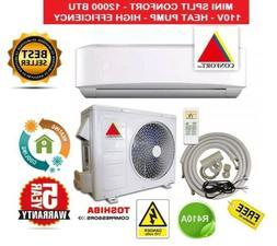 12,000 BTU System Ductless Air Conditioner Heat Pump Mini Sp