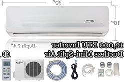 12,000 BTU Innova Ductless Mini-split Air Conditioner - Inve