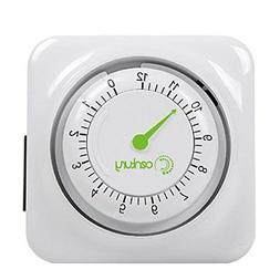 Century 12 Hour Mechanical Countdown Timer with Grounded Pin