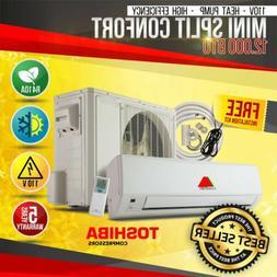 12000 BTU 15 SEER 110V Mini Split Confort  System Ductless A