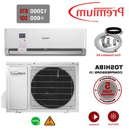 12000 BTU Air Conditioner Mini Split 16.9 SEER AC Ductless O
