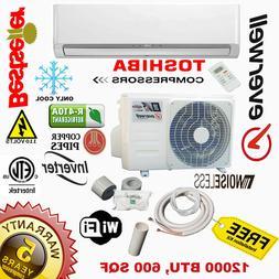 12000 BTU Air Conditioner Mini Split 18 SEER INVERTER AC Duc