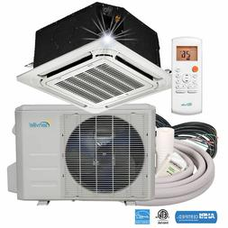18000 BTU Ductless Mini Split Air Conditioner - Ceiling Cass