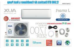 12000 BTU Ductless Air Conditioner, Heat Pump Mini Split 115