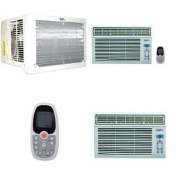 12000 BTU Window Air Conditioner 115-Volt Cool Only with Rem