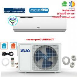 Mini Split Air Conditioner Inverter Wall Heat Pump, 12000 BT