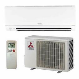 Mitsubishi - 12k BTU Cooling + Heating - M-Series Wall Mount
