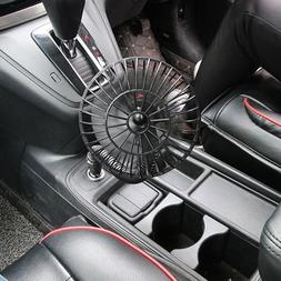 12V Portable Mini Electric Car Fan Low Noise Summer Cooling