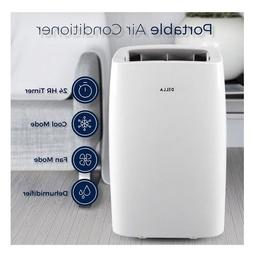 14,000 BTU Portable Air Conditioner Home Quiet AC Unit Remot