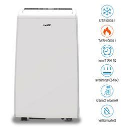 Shinco 14000 BTU Portable Air Conditioner Unit + 11000 BTU H