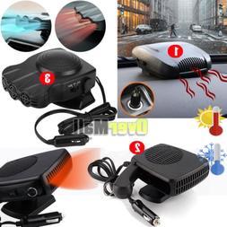 150W-200W Portable Car Ceramic Heating Cooling Heater Fan De