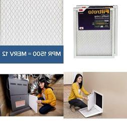 Filtrete 16x25x1, AC Furnace Air Filter, MPR 1500, Healthy L