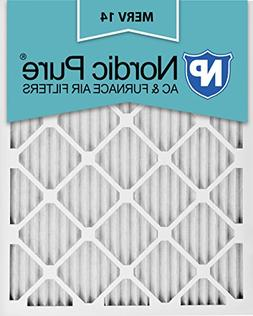 Nordic Pure 16x25x1M14-6 Pleated AC Furnace Air Filter, Box