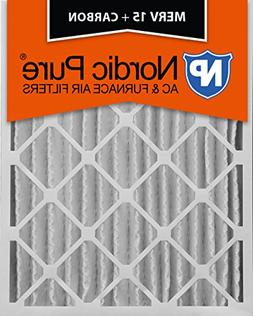 Nordic Pure 12x24x4M15+C-2 MERV 15 Plus Carbon AC Furnace Ai