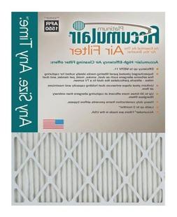 20X25X1  Accumulair Platinum 1-Inch Filter