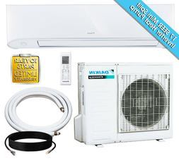 18,000 BTU Daikin 17 SEER Mini Split Inverter Heat Pump Set