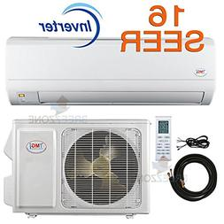 9,000 Btu YMGI 16 SEER Ductless Mini Split DC Inverter Air C