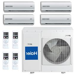 18 SEER Haier Ductless Four Zone Multi Split Air Conditioner