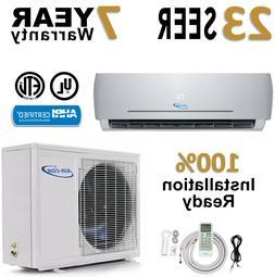 18000 BTU 23 SEER Ductless Mini Split Air Conditioner Heat P