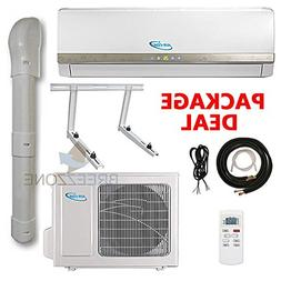 12000 Btu Air-Con DC Inverter Ductless Air Conditioner Heat