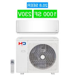 18000 BTU Ductless Mini Split Heat Pump Ductless AC Heater 2