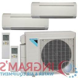 18k BTU 17 SEER Daikin Ductless Heat Pump Split System - 2 Z