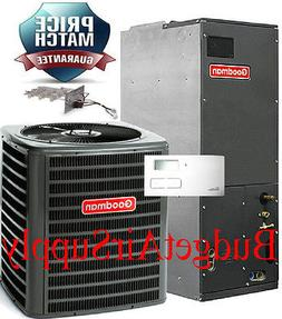 2 1/2 ton 2.5 ton 13 seer A/C 410a Goodman system GSX130301+