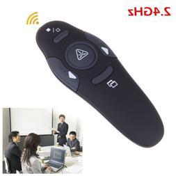 2.4G Wireless Presenter PPT Laser Pointer Pen Remote Control