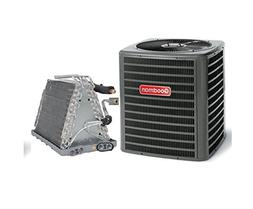 Goodman 3 Ton 14 Seer Air Conditioning System with Uncased U