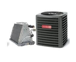 Goodman 2.5 Ton 13 SEER AC with Uncased Upflow/Downflow Coil