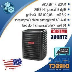 2.5 Ton 14 SEER Goodman Air Conditioner Condenser