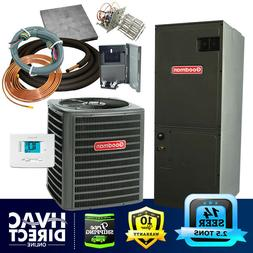 2.5 Ton 14 SEER Goodman Heat Pump System   Complete Install