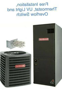 Goodman 2.5 ton 16 SEER Air Conditioner - GSX160301 -Free
