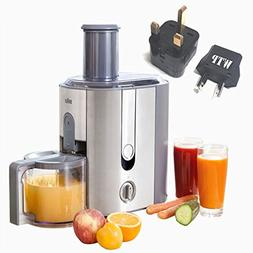 Bundle 2 Items: Juicer + WTP Plug Kit - Braun J700  - Intern