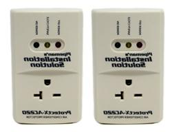 2 Pack AC 220v Surge Brownout Voltage Protector 3600 Watts F