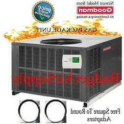 2 Ton Goodman 14 seer Gas/Elec Package Unit 81% 60K Btu GPG1