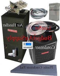 3 ton 14 SEER HEAT PUMP 410a Goodman GSZ14036+ARUF37C14+25FT