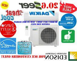 20.6 SEER 15000 BTU DAIKIN A Conditioner & Heat Ductless Min
