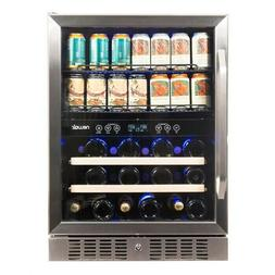 NewAir 20 Bottle Can Dual Zone Convertible Wine Cooler Brand
