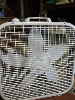 20 inch box fan 3 quiet speeds